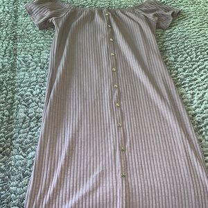 Dresses & Skirts - Mauve pink midi dress